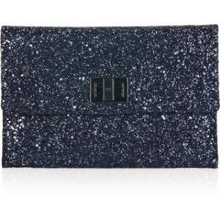 Anya Hindmarch Glitter Finish Clutch Bag
