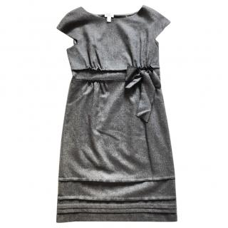 PHILOSOPHY DI ALBERTA FERRETTI  grey wool dress