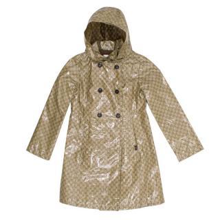 Gucci Kids GG Monogram Rain Coat