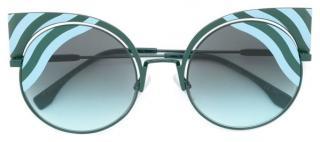 Fendi Hypnoshine Cat Eye Sunglasses