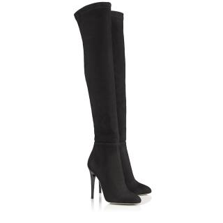 Jimmy Choo Turner over the knee suede boots