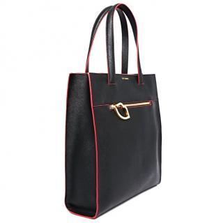 Lulu Guiness Black Shoulder/Tote Bag