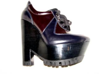 Burberry Runway Stuart Wedge Lace Up