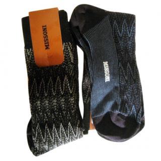 Missoni 4 pairs socks.