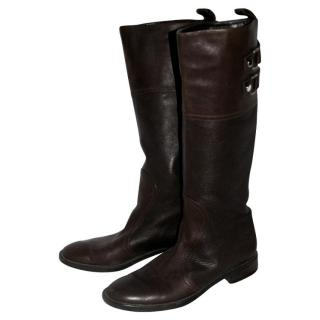 Sergio Rossi Buckled Boots