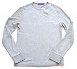 RALPH LAUREN PURPLE LABEL Grey Sweatshirt