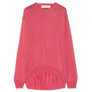 Stella McCartney pink sweater