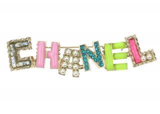 Chanel multi coloured CHANEL brooch