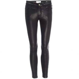 Frame Leather pants - Skinny de Jeanne