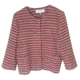 Gerard Darel Red Patterned Jacket