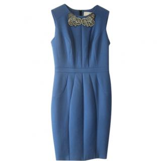 Jason Wu embellished neckline dress