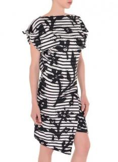 Vivienne Westwood Anglomania asymmetric stretchy Dress