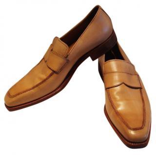 Loewe beige loafers