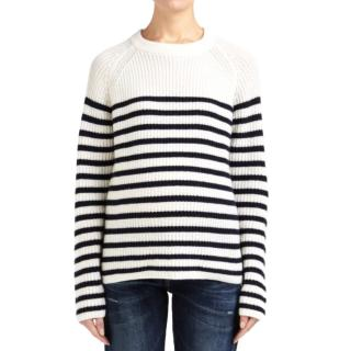 Joseph Pure Cashmere Striped Knit