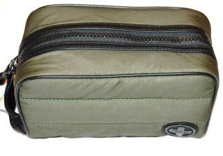 POLO Ralph Lauren olive wash bag