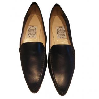 Emma Hope navy Vitello shoes
