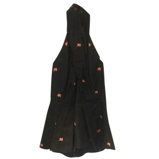Mulberry lucky leaf jacquard halter top - part of a set for sale
