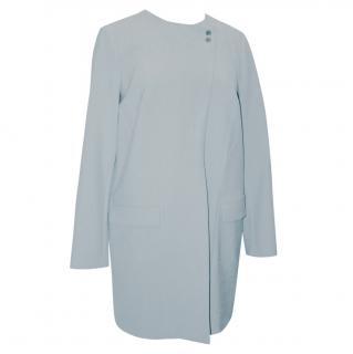 Boss palest blue coat, UK size 12