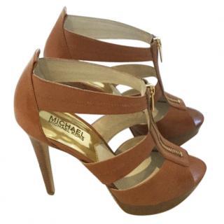 Micheal Kors Berkeley platform sandals
