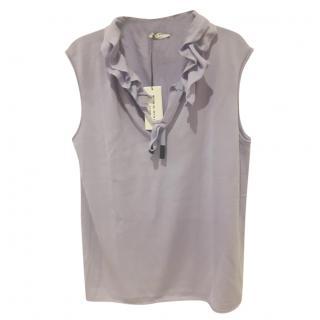 Sonia Rykiel Lilac Wool & Cashmere Vest Size L (UK Size 16).
