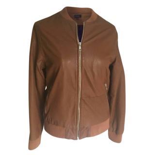 Paul smith junior leather jacket
