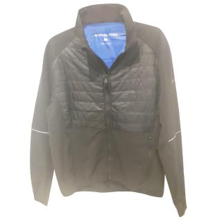 Michael Kors Black Stretch & Padded Jacket. Size: S.