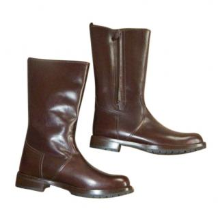 Hermes Sheepskin Lined Snow Boots