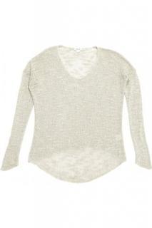 Helmut Lang silk open knit
