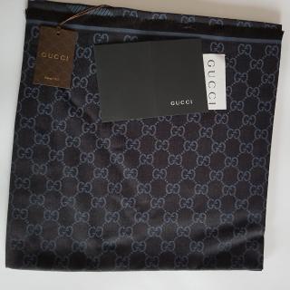 Gucci Blue ggweb scarf  new WHIT RECEIPT