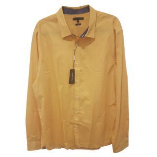 Michael Kors Long Sleeve Orange Shirt Size XXL