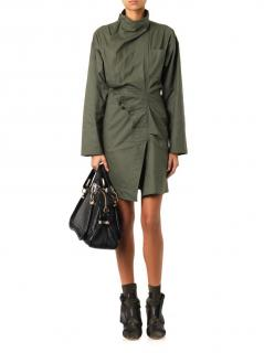 Isabel Marant garrison khaki dress