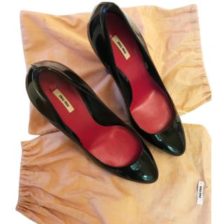 Miu Miu patent leather heels