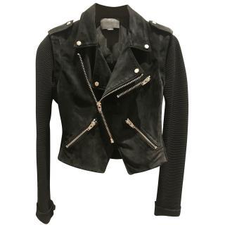 Alexander Wang Suede biker jacket