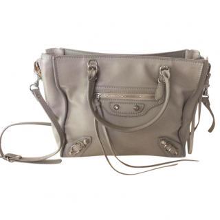 Balenciaga mini papier A4 zip around bag
