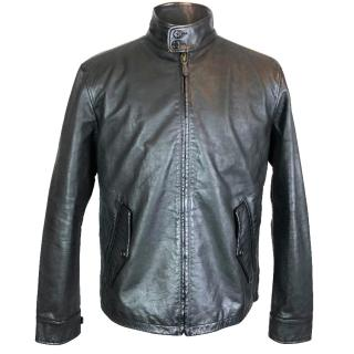 Polo Ralph Lauren Brentwood Barracuda Leather Jacket