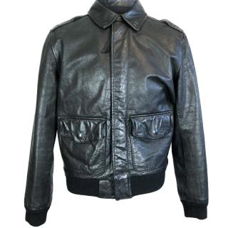 Polo Ralph Lauren A2 Leather Bomber Jacket
