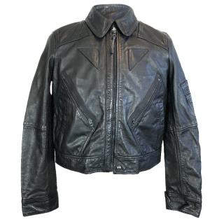Polo Ralph Lauren Italian Leather Biker Jacket