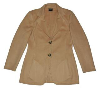 Akris Brown Cashmere Blazer