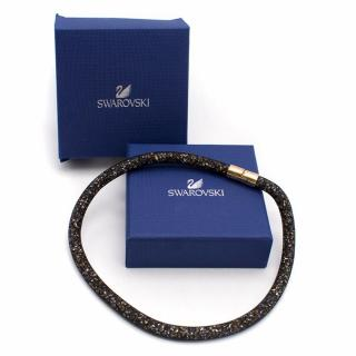 Swarovski Stardust Dark Multi Double Bracelet