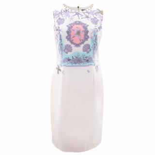 Versace Printed Mid-Length Dress
