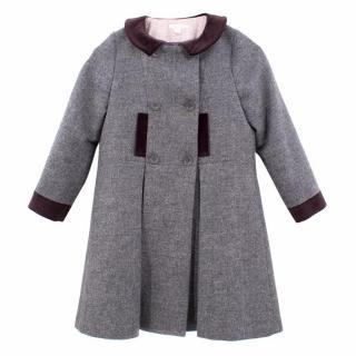 Marie Chantal Kids Wool Coat