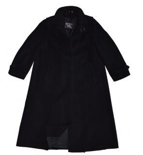 Burberry Dark Blue Wool Coat