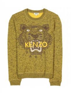 Kenzo Mustard Tiger Jumper