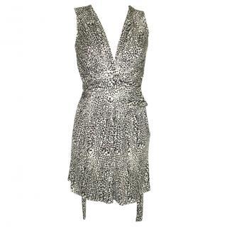 ISSA silk long top/mini dress, UK size 8