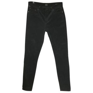Citizens of Humanity High Rise Cotton Velvet Jeans