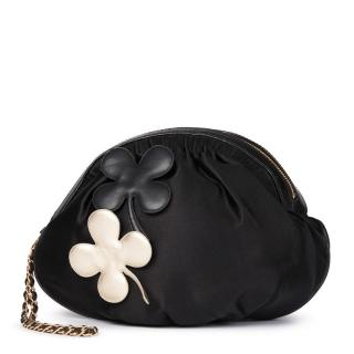 Chanel  Four Leaf Clover  Wristlet Clutch