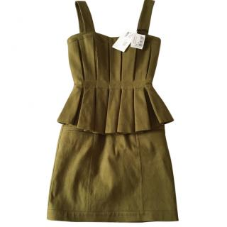Balmain peplum dress