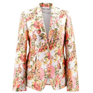 Stella McCartney Floral Blazer
