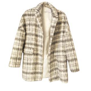 IBlues Alpaca and Wool Oversized Coat