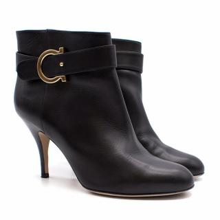 Salvatore Ferragamo Leather Heeled Ankle Boots
